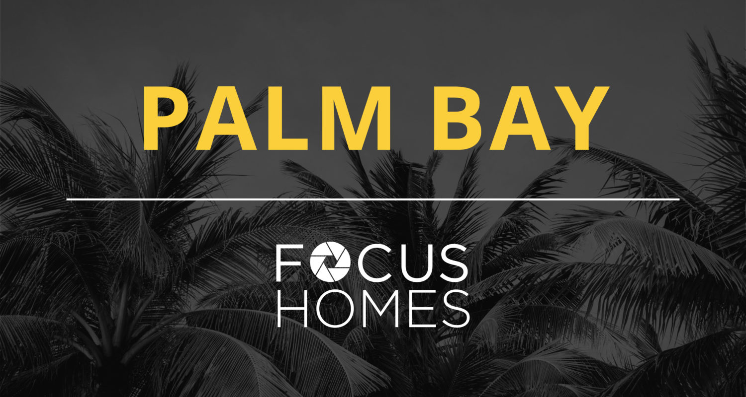 The sun setting by the beach, near your new home in Palm Bay Florida